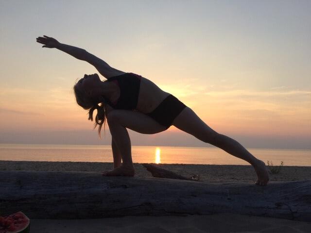 Ilona Zālmane joga