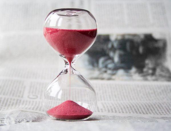 Smilšu pulkstenis pārtrauktā badošanās